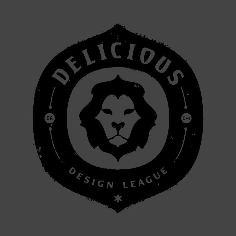 DDL Logo Roughened Men's Pullover Hoody by Delicious Design League
