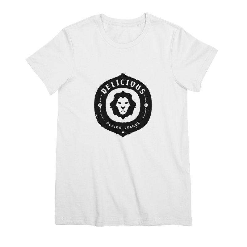 DDL Logo Roughened Women's T-Shirt by Delicious Design League