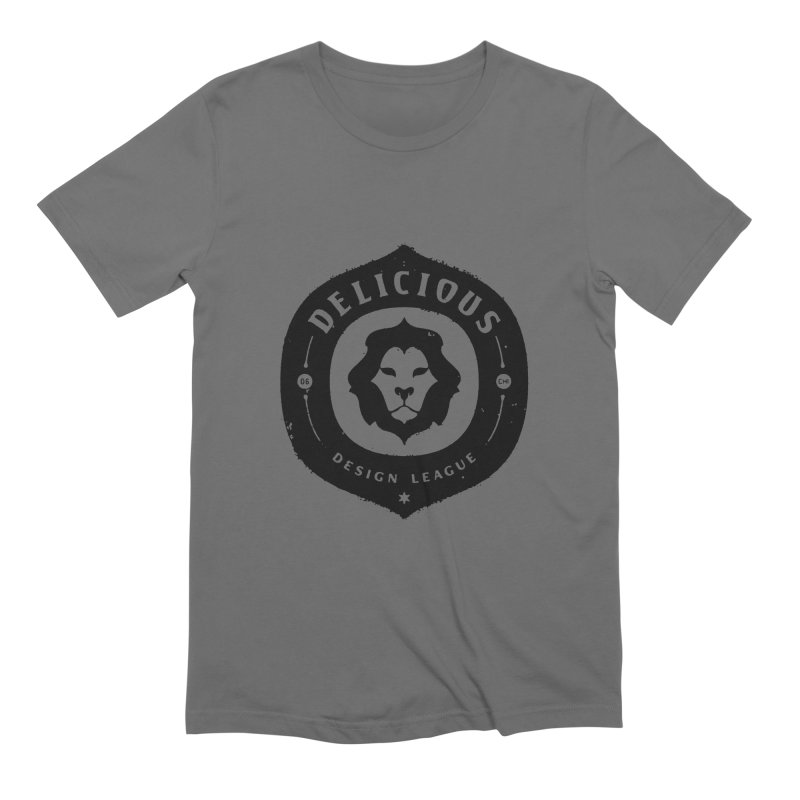 DDL Logo Roughened Men's T-Shirt by Delicious Design League