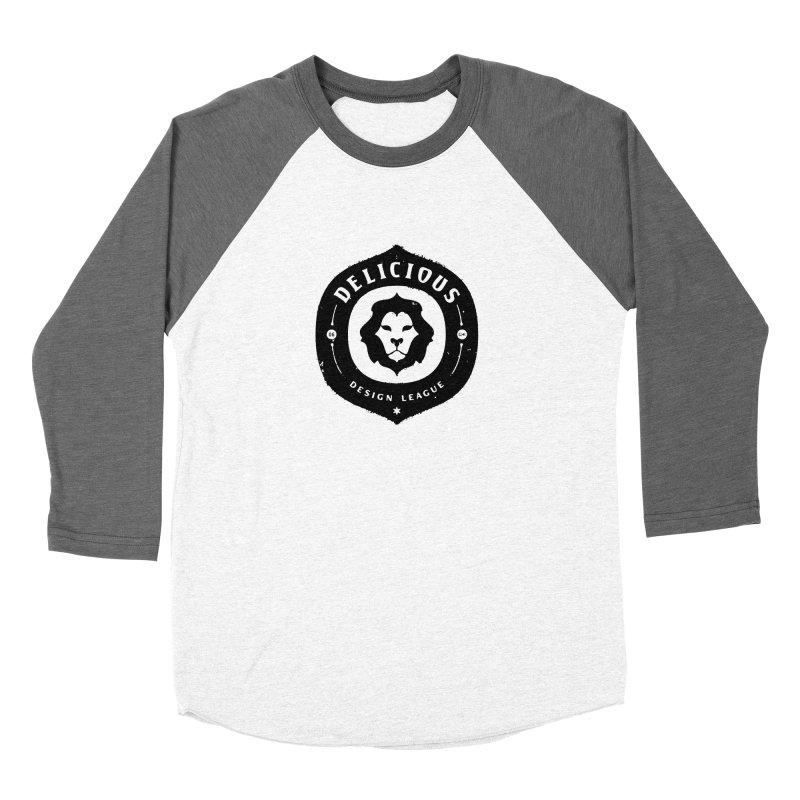 DDL Logo Roughened Women's Longsleeve T-Shirt by Delicious Design League