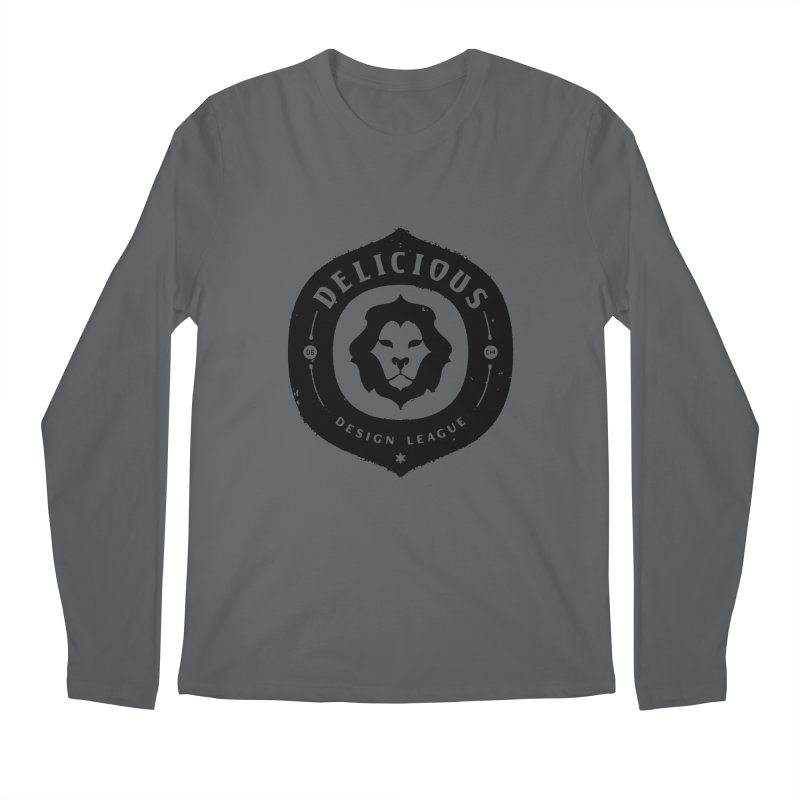 DDL Logo Roughened Men's Longsleeve T-Shirt by Delicious Design League