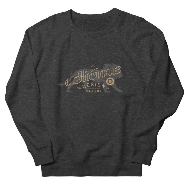 Delicious Logo Lion Lock-up Women's Sweatshirt by Delicious Design League