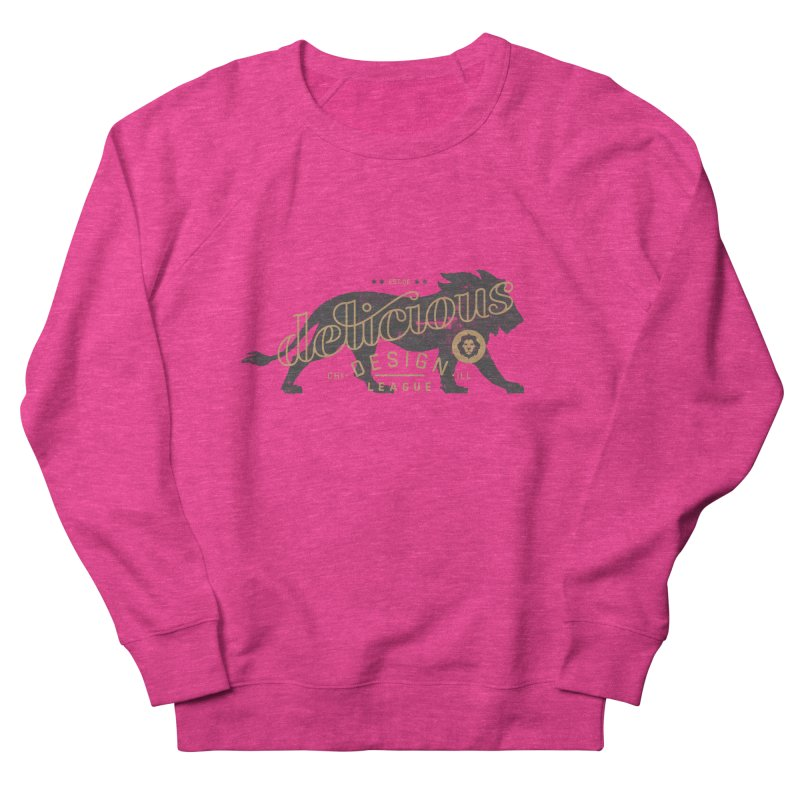 Delicious Logo Lion Lock-up Men's Sweatshirt by Delicious Design League