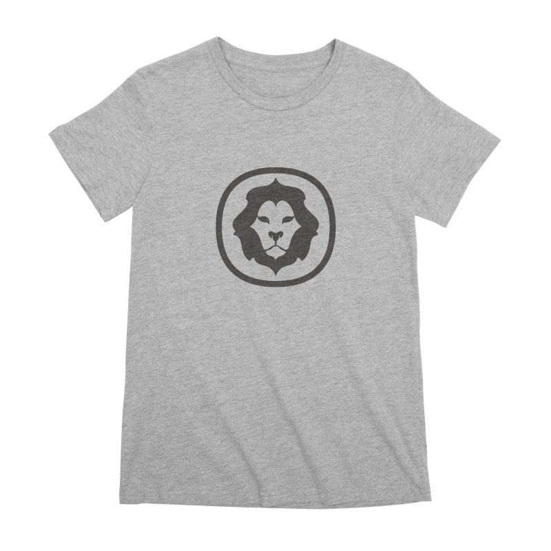 Delicious Lion Icon Women's T-Shirt by Delicious Design League