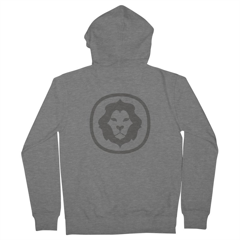 Delicious Lion Icon Women's Zip-Up Hoody by Delicious Design League