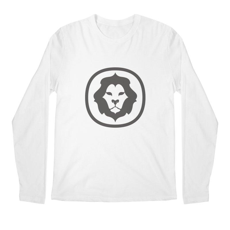 Delicious Lion Icon Men's Longsleeve T-Shirt by Delicious Design League