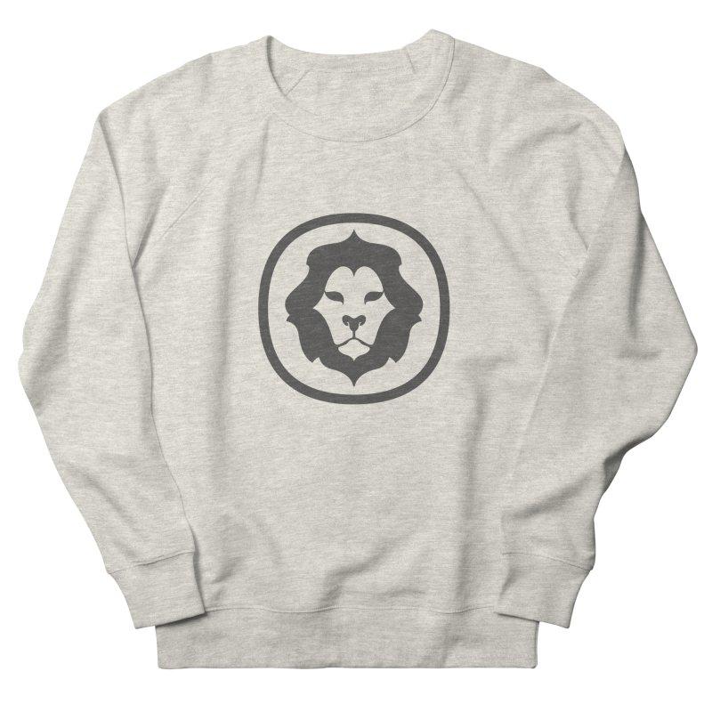 Delicious Lion Icon Men's Sweatshirt by Delicious Design League