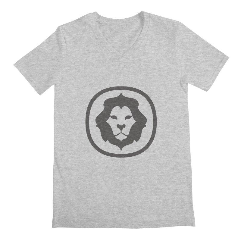Delicious Lion Icon Men's V-Neck by Delicious Design League