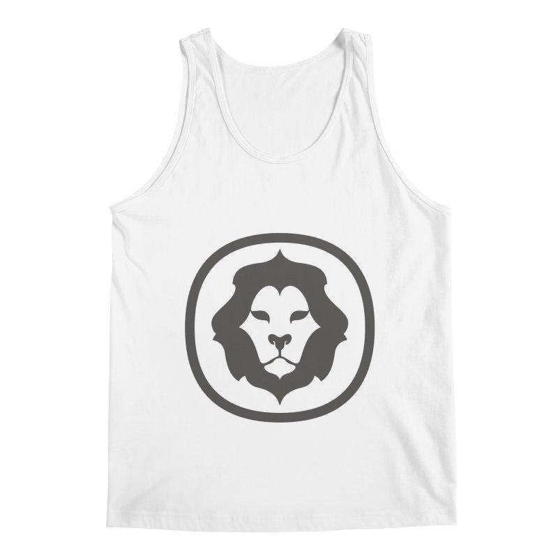 Delicious Lion Icon Men's Tank by Delicious Design League