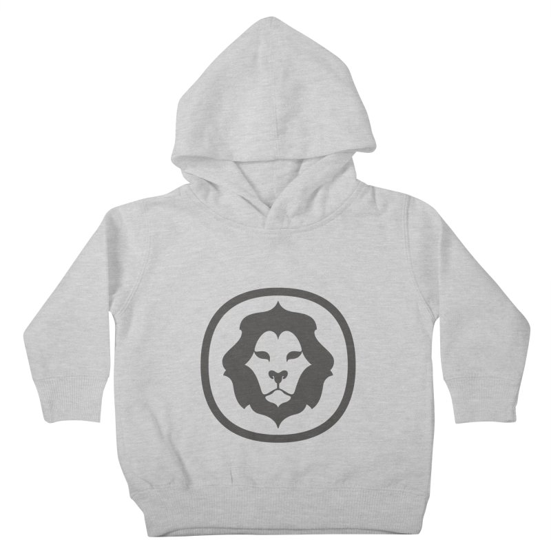Delicious Lion Icon Kids Toddler Pullover Hoody by Delicious Design League