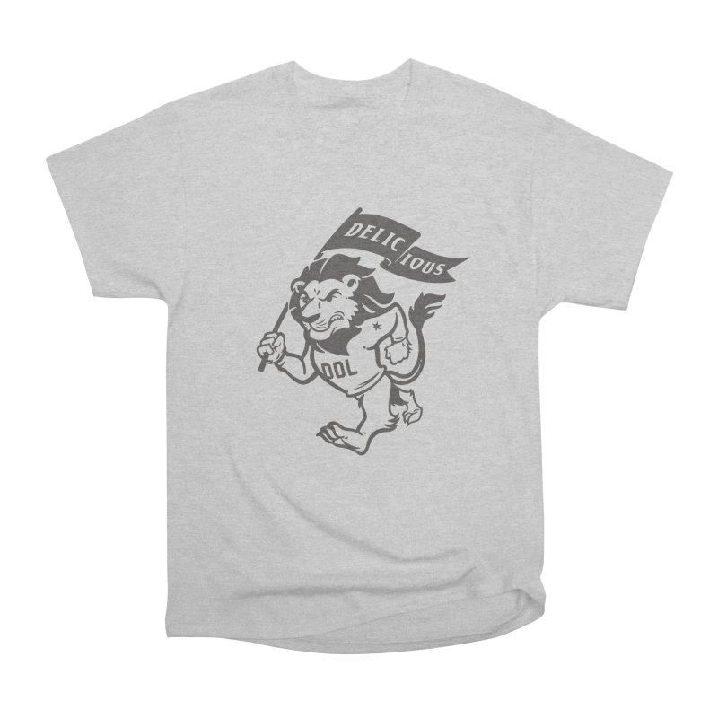 Classic DDL Mascot Men's T-Shirt by Delicious Design League
