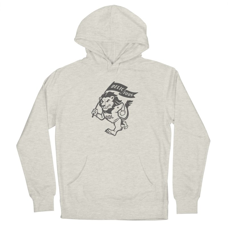 Classic DDL Mascot Men's Pullover Hoody by Delicious Design League
