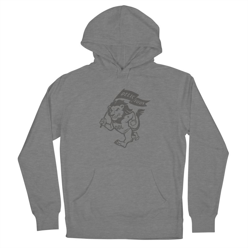 Classic DDL Mascot Women's Pullover Hoody by Delicious Design League