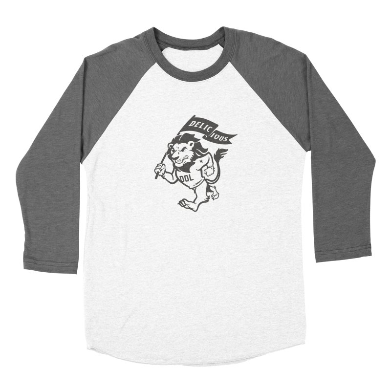 Classic DDL Mascot Women's Longsleeve T-Shirt by Delicious Design League