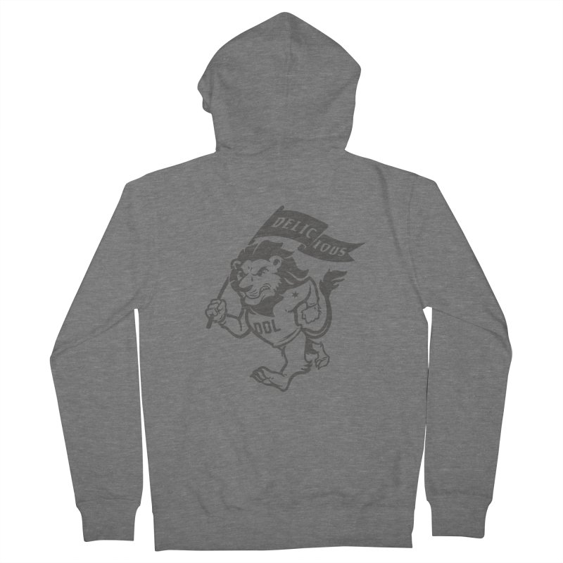 Classic DDL Mascot Women's Zip-Up Hoody by Delicious Design League