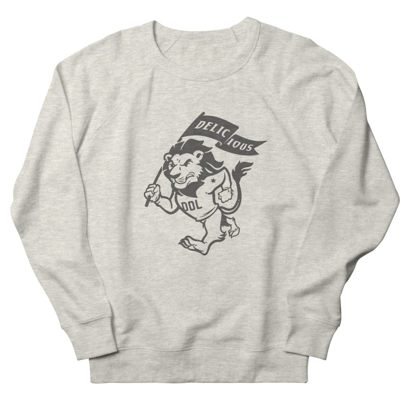 Classic DDL Mascot Men's Sweatshirt by Delicious Design League