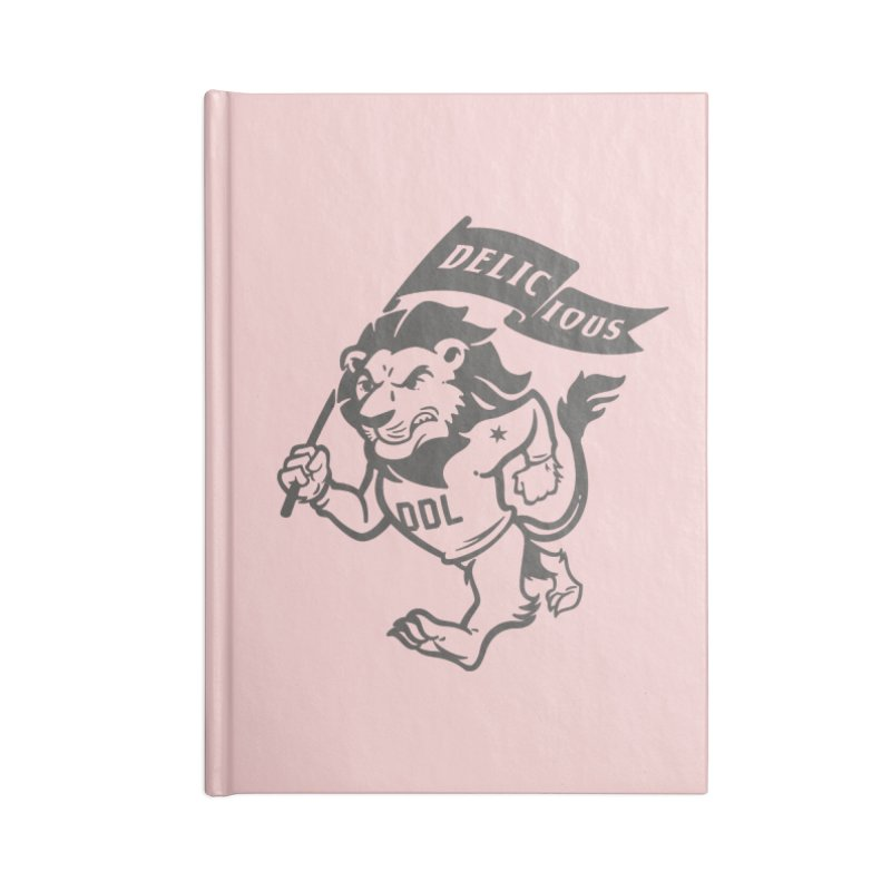 Classic DDL Mascot Accessories Notebook by Delicious Design League