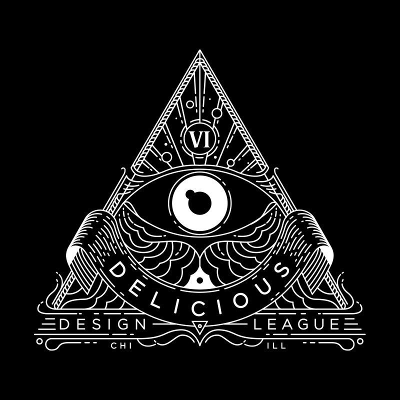 DDL Occult Logo Men's V-Neck by Delicious Design League