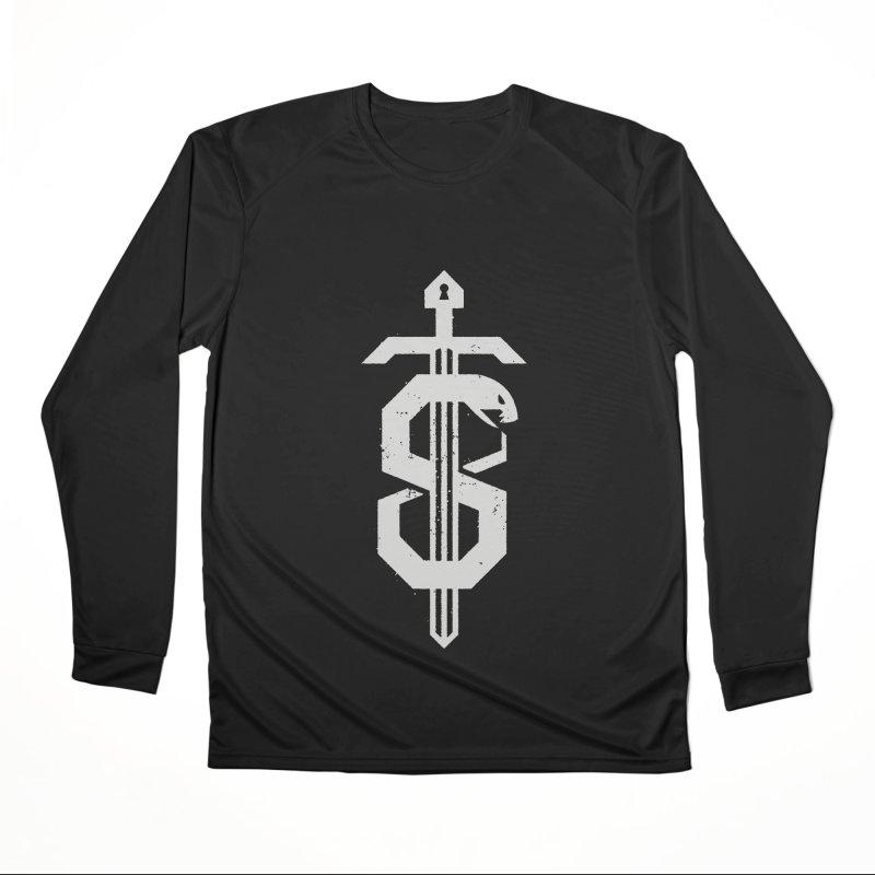 Secret Panel Logo Women's Longsleeve T-Shirt by Delicious Design League