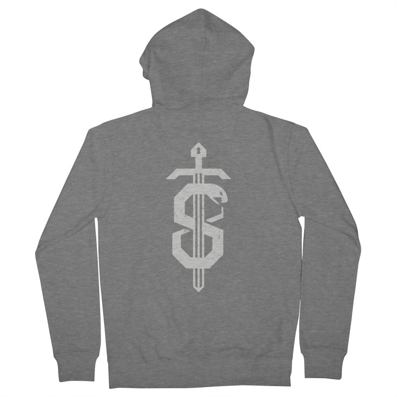 Secret Panel Logo Women's Zip-Up Hoody by Delicious Design League