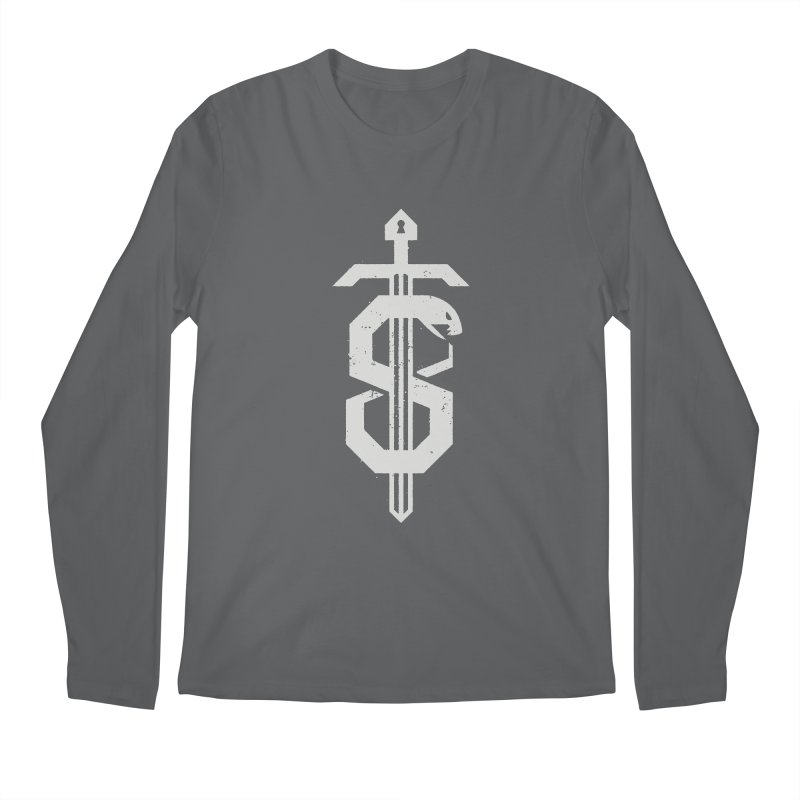 Secret Panel Logo Men's Longsleeve T-Shirt by Delicious Design League