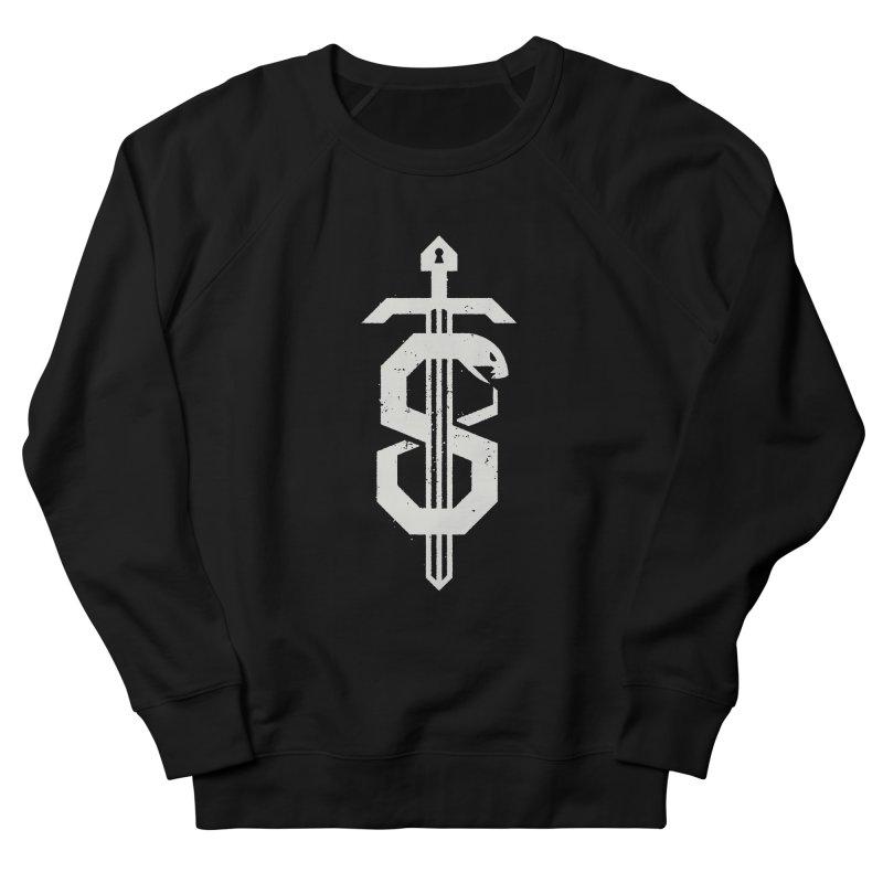 Secret Panel Logo Men's Sweatshirt by Delicious Design League