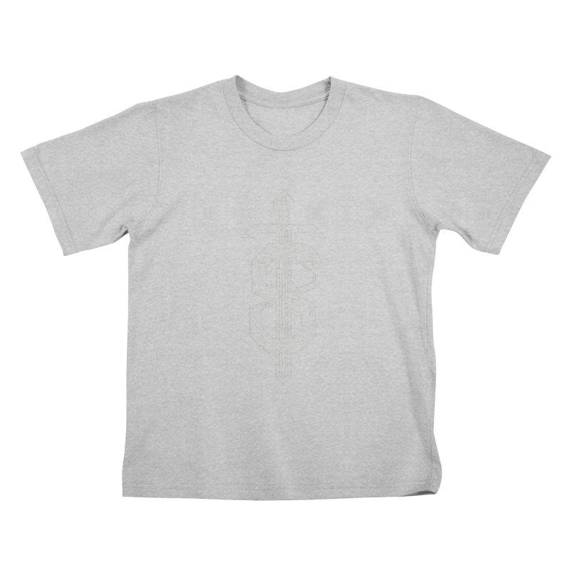 Secret Panel Logo Kids T-Shirt by Delicious Design League