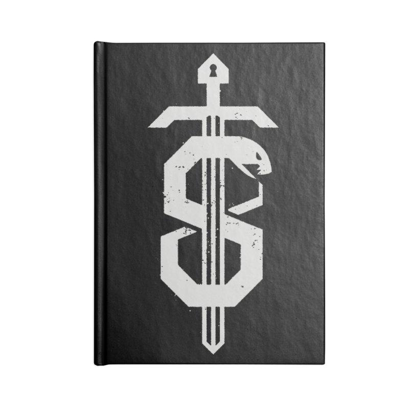 Secret Panel Logo Accessories Notebook by Delicious Design League