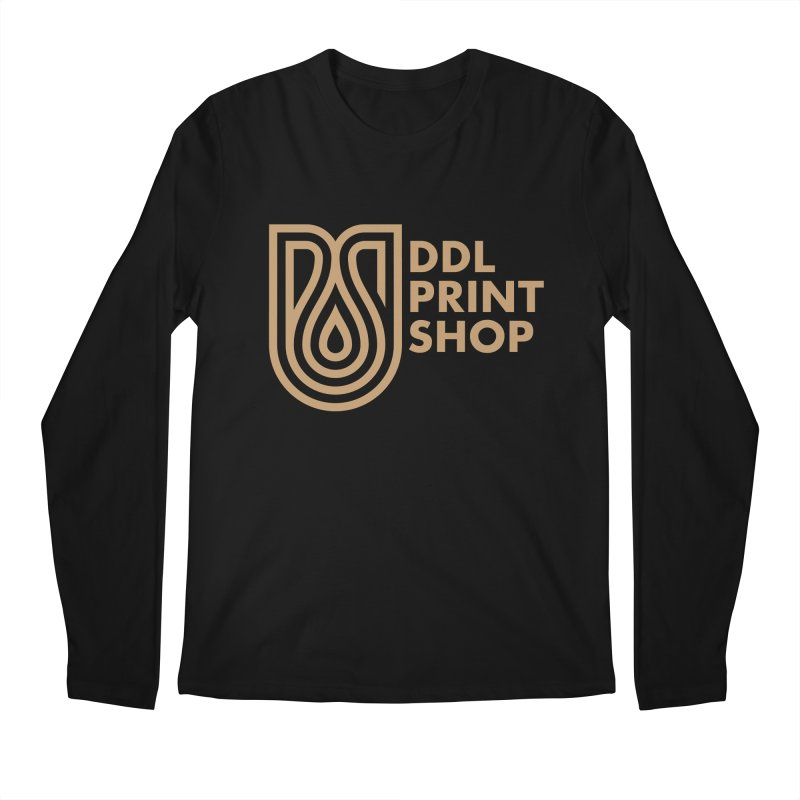 DDL Print Shop Logo Men's Longsleeve T-Shirt by Delicious Design League