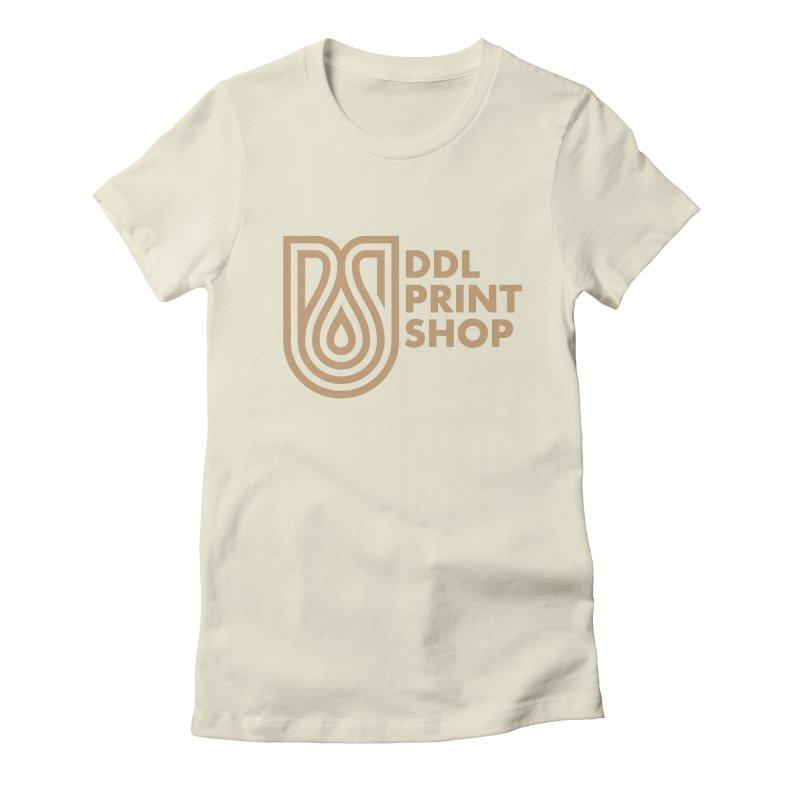 DDL Print Shop Logo Women's T-Shirt by Delicious Design League