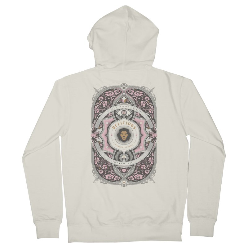 Heart & Soul of DDL Women's Zip-Up Hoody by Delicious Design League