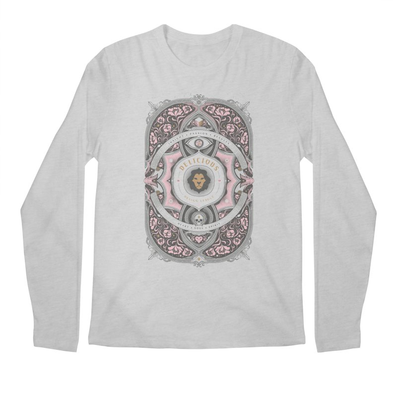 Heart & Soul of DDL Men's Longsleeve T-Shirt by Delicious Design League