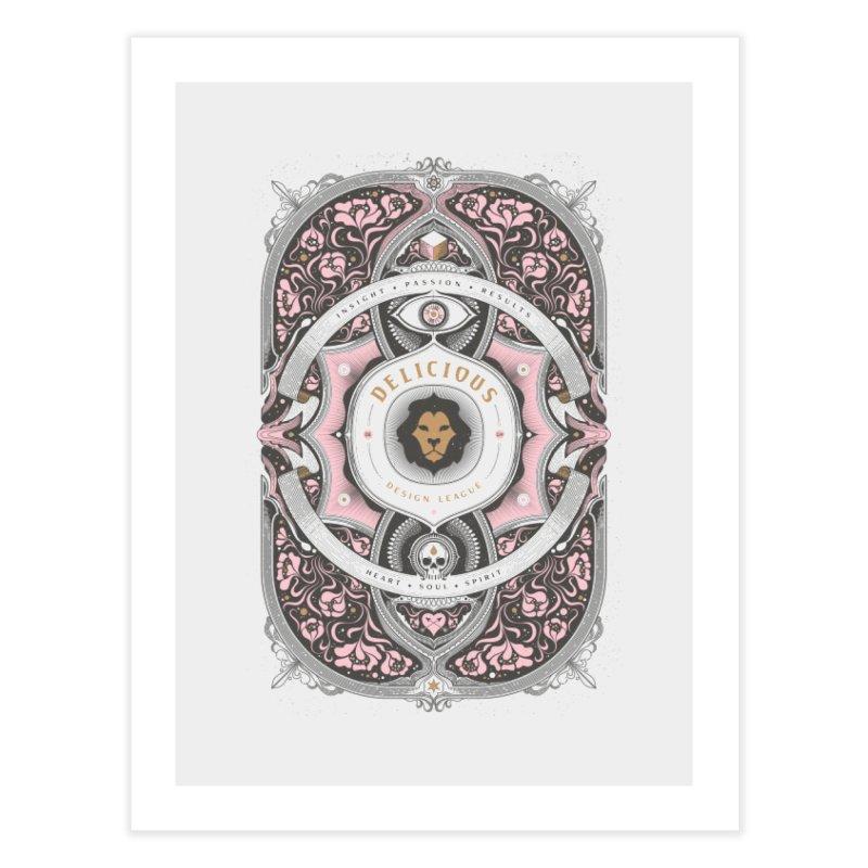 Heart & Soul of DDL Home Fine Art Print by Delicious Design League
