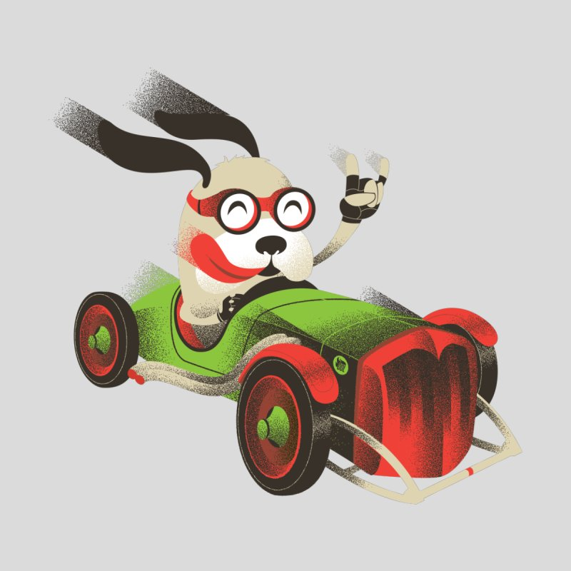 Dog Racer by deliciousdesignleague's Artist Shop