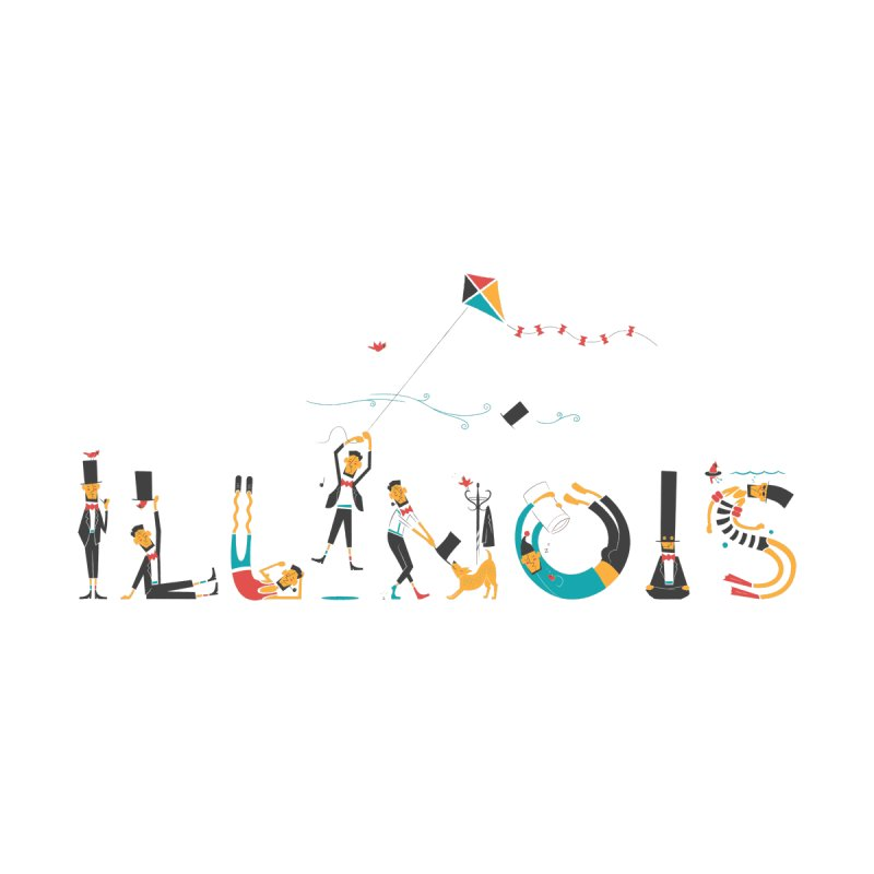 Illinois by deliciousdesignleague's Artist Shop