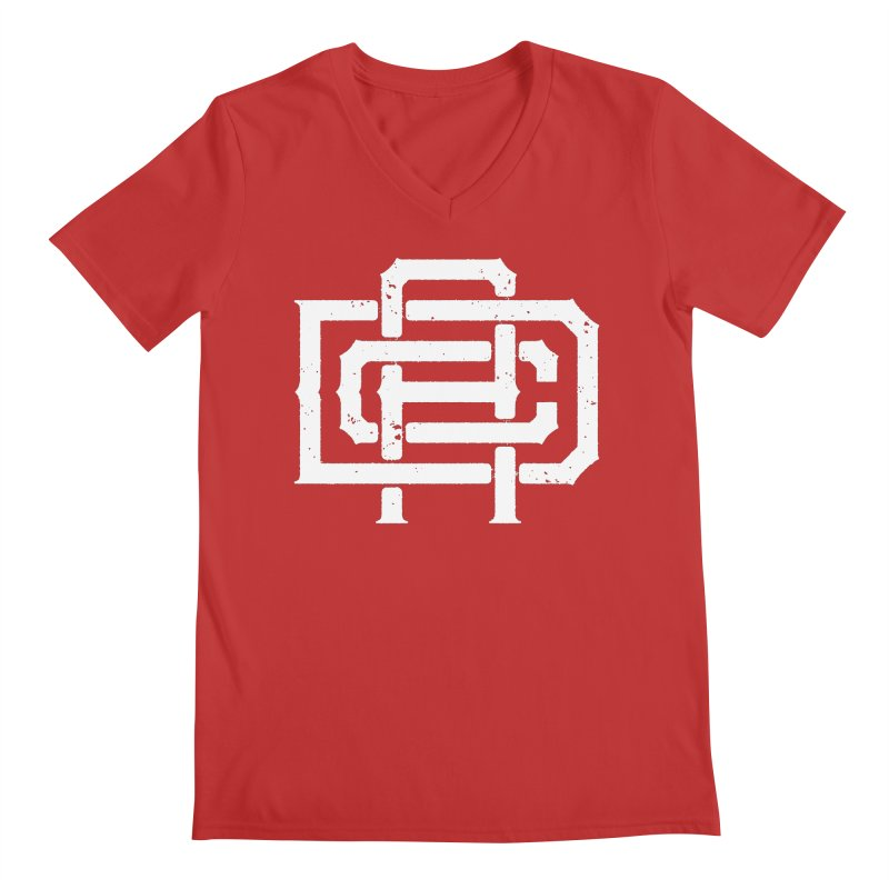 Athletic Design Club Monogram Men's V-Neck by Delicious Design League
