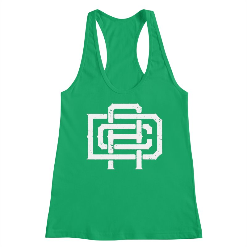 Athletic Design Club Monogram Women's Tank by Delicious Design League