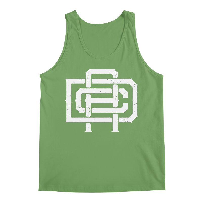 Athletic Design Club Monogram Men's Tank by Delicious Design League