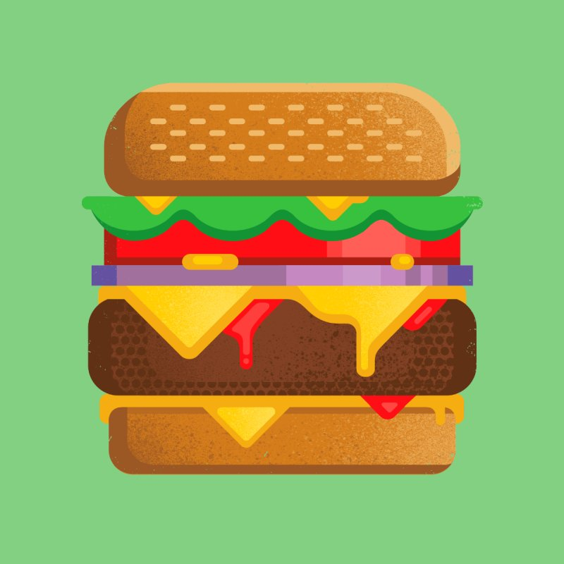 Burger by deliciousdesignleague's Artist Shop