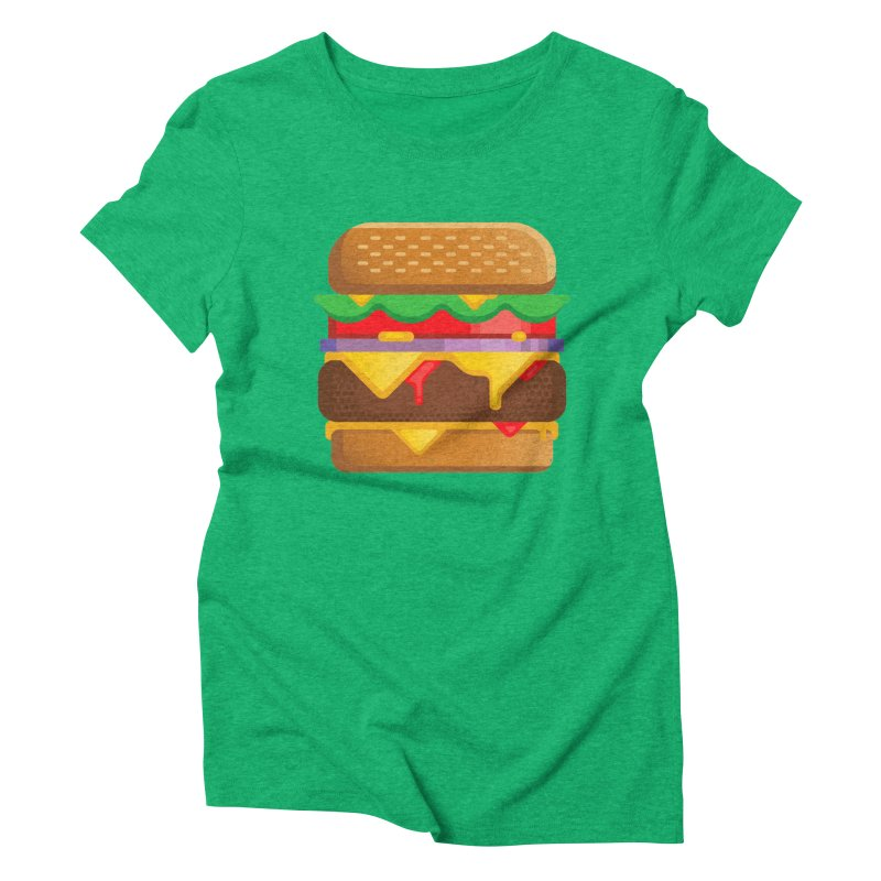Burger Women's  by deliciousdesignleague's Artist Shop