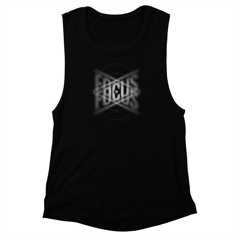 Focus Women's Muscle Tank by deliciousdesignleague's Artist Shop