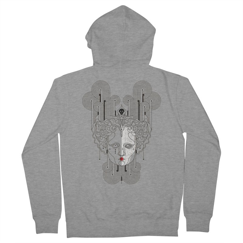 Orpheum Women's French Terry Zip-Up Hoody by Delicious Design Studio