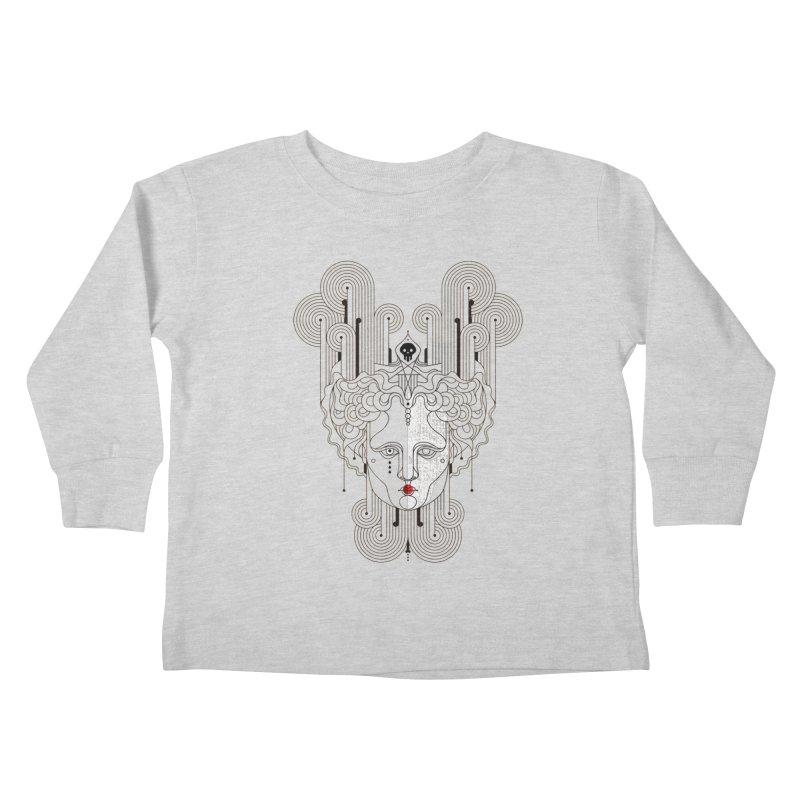 Orpheum Kids Toddler Longsleeve T-Shirt by Delicious Design Studio