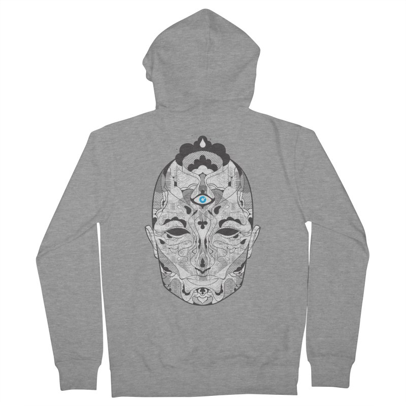 King Women's French Terry Zip-Up Hoody by deliciousdesignleague's Artist Shop