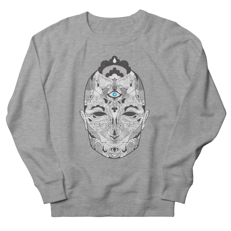 King Women's French Terry Sweatshirt by Delicious Design Studio