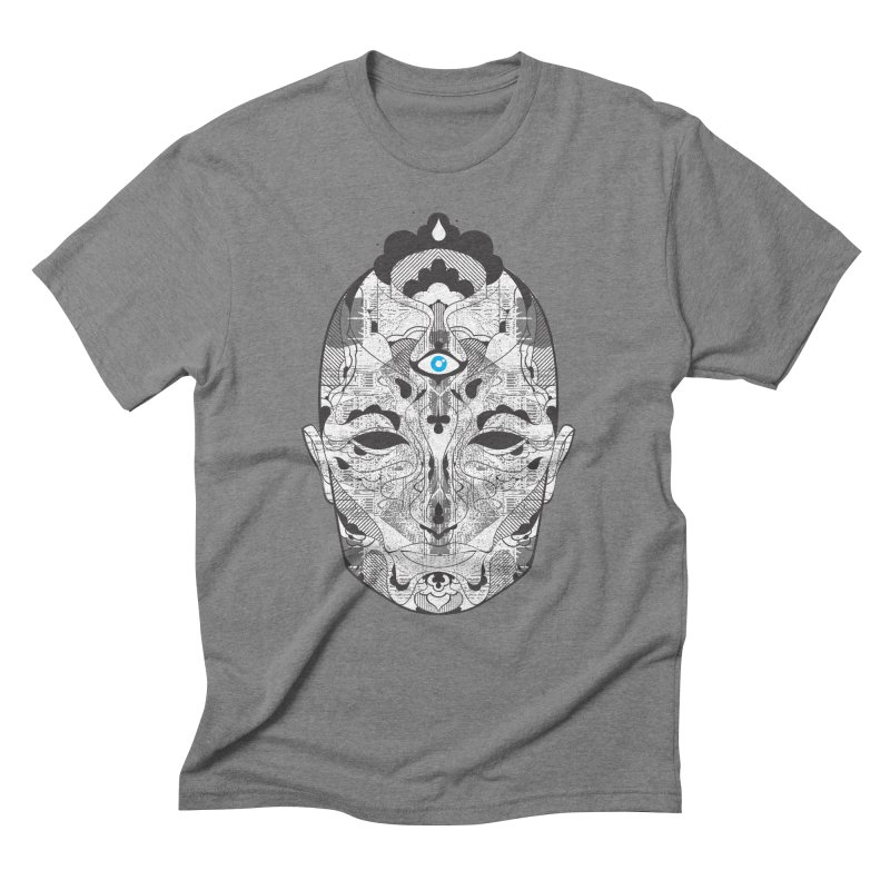 King Men's Triblend T-Shirt by Delicious Design Studio