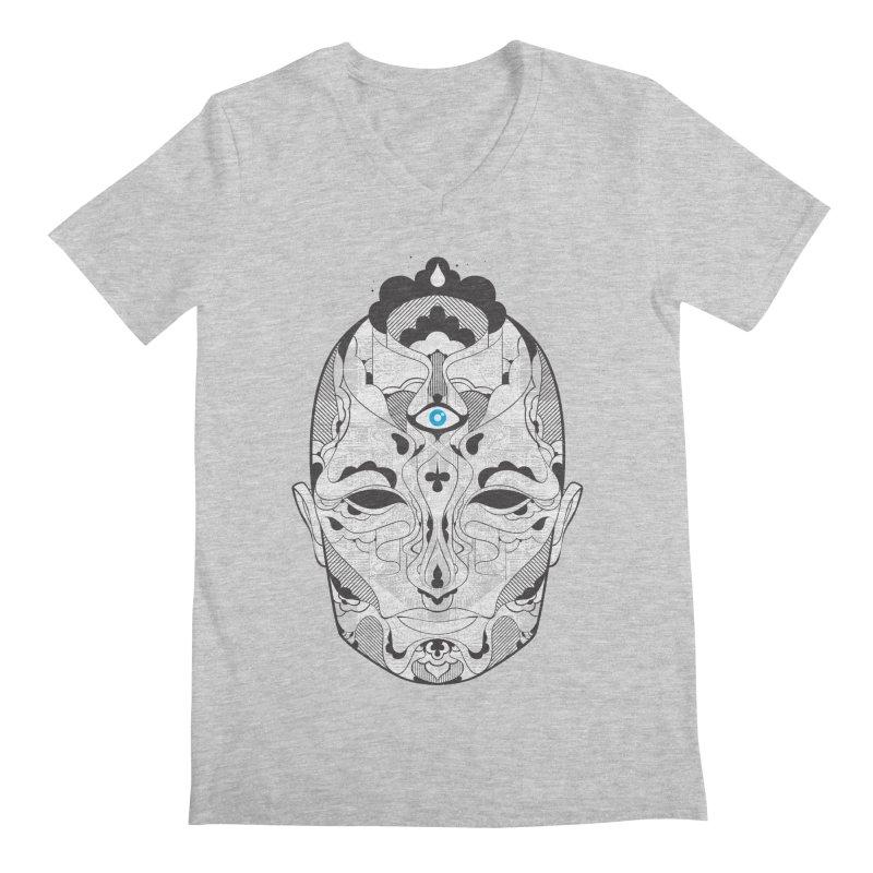 King Men's V-Neck by deliciousdesignleague's Artist Shop