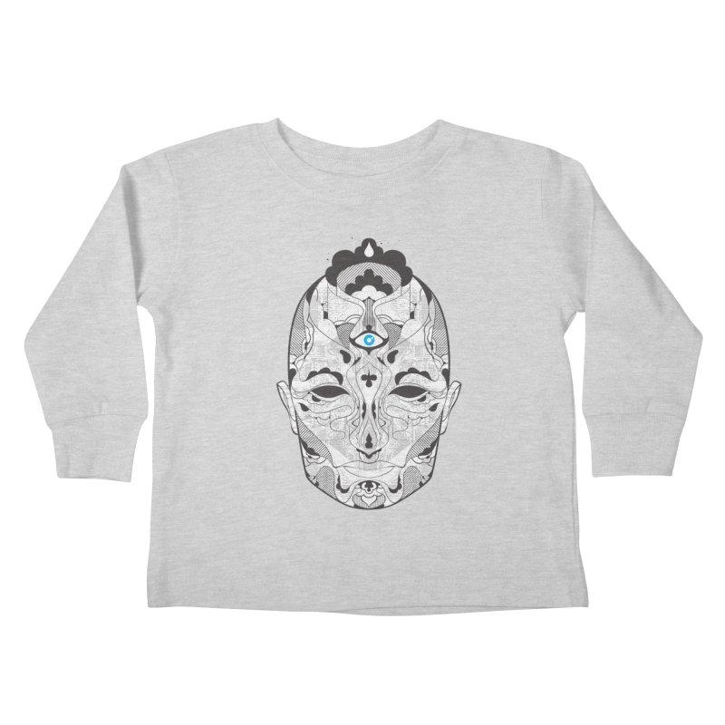 King Kids Toddler Longsleeve T-Shirt by Delicious Design Studio