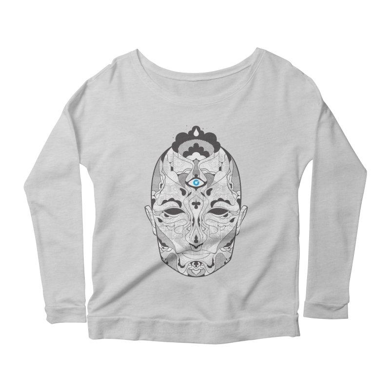 King Women's Scoop Neck Longsleeve T-Shirt by Delicious Design Studio