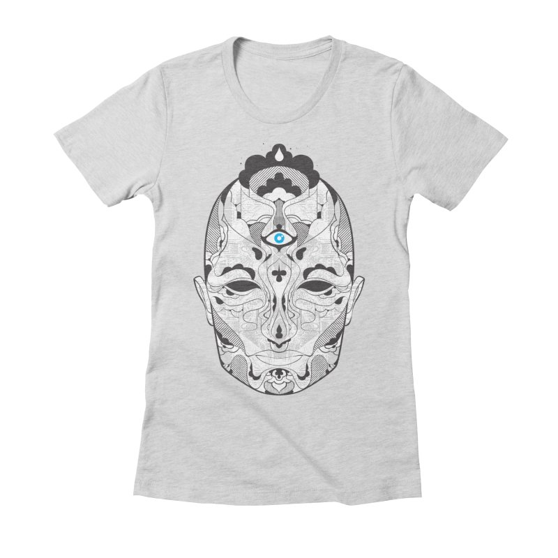 King Women's Fitted T-Shirt by deliciousdesignleague's Artist Shop